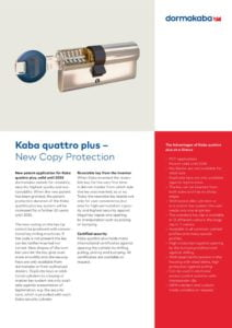 thumbnail of kaba-quattro-plus
